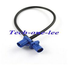 5.90in GPS Antenna Extension Cable Fakra C Plug to Male Plug Pigtail RG174 15cm