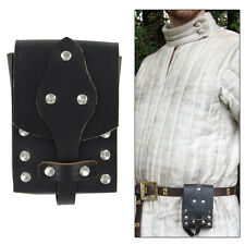 Genuine Leather Biker Last Ride Medieval Renaissance Knight Belt Pouch
