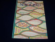 1966 JULY 16 NEW YORKER MAGAZINE - BEAUTIFUL FRONT COVER FOR FRAMING- O 5073