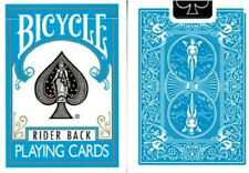 Bicycle Turquoise Deck - Rider Back - Playing Cards - Magic Tricks - New