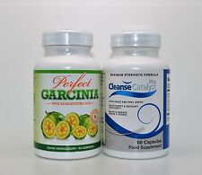 Perfect Garcinia Cambogia 60 Caps & Cleanse Catalyst Plus Purify Detox Your Body
