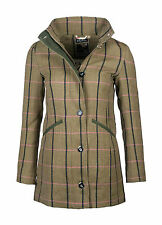 Womens Megan Beverley Tweed Riding Country Coat Jacket [405145] UK 16