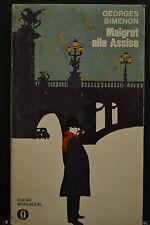 MAIGRET ALLE ASSISE - Georges Simenon - oscar Mondadori 1977