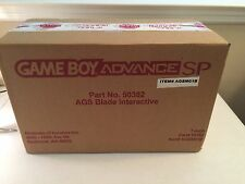 Nintendo Game Boy Advance SP Metroid Store Demo Kiosk Display System RARE -#S289