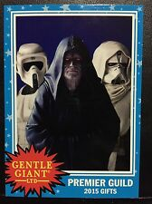 2015 SDCC EXCLUSIVE Gentle Giant Promo Card: Star Wars Premier Guild