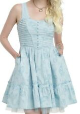 DISNEY ALICE THROUGH THE LOOKING GLASS EXCLUSIVE TEA PARTY DRESS SZ MD NWT