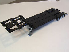 "NEW LEGO TECHNIC BLACK CUSTOM FLATBED TRAILER 25""-Long 8258/8285/8436/9397"