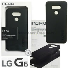 LG G6 INCIPIO DualPRO Hard Shell Drop Protection Case Cover Black, LGE-342-BLK