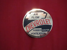 1953 – 1959 CHEVROLET / GMC TRUCK AIR FLOW HEATER VENTILATION DECAL STICKER NEW