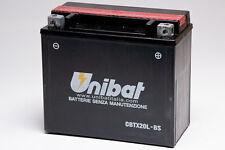 BATTERIA MOTO SCOOTER UNIBAT YUASA CBTX20L-BS BUELL M2 Cyclone 1200 97-02