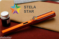 Lamy 2017 All-Star Exclusive Al-Star Fountain ORANGE Pen Ink Converter Gift Box