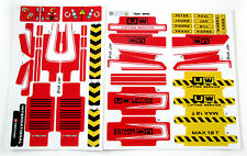 Custom 'Pre-Cut' stickers for LEGO 8258 Crane truck ,MODELS, TOYS, ETC