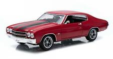 GREENLIGHT FAST & FURIOUS DOM'S 1970 CHEVELLE SS DIECAST MODEL CAR 1:18 12945