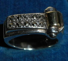 VINTAGE! GERMAN STERLING SILVER RING