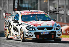 Garth Tander SIGNED 12x8, HSV Holden VE Commodore ,Clipsal 500 Adelaide 2013.