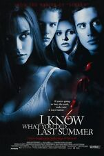 I Know What You Did Last Summer Double Sided Rolled 27x40 Orignal Movie Poster