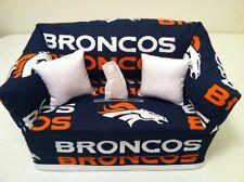 NFL Denver Broncos Sofa Tissue Box Cover Handmade