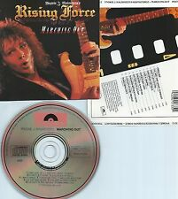 YNGWIE J. MALMSTEEN'S RISING FORCE-MARCHING OUT-1985-USA-POLYDOR UML CD-MINT-