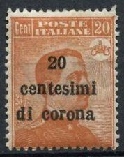 Austrian Territories Acquired Italy 1919 SG#69 20c Orange MH #D9091