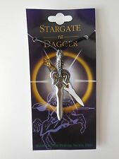 ADJUSTABLE PEWTER SWORD PENDANT NECKLACE - STARGATE ra DAGGER Approx 6.8cm
