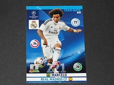 MARCELO MERENGUES REAL MADRID UEFA PANINI FOOTBALL CHAMPIONS LEAGUE 2014 2015