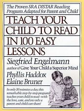 Teach Your Child to Read in 100 Easy Lessons Bruner Siegfried Phonics Homeschool