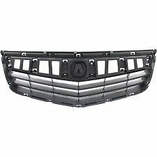 2011 2012 2013 2014 ACURA TSX Back Panel of Upper Grille on Front Bumper NEW