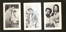 3 Card set MGM Movies SHOW BOAT & KISMET Howard Keel Ann Blythe Kathryn Grayson
