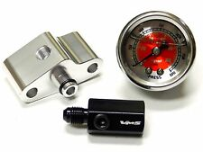 "NITROUS PRESSURE LINE ADAPTER 1/8"" PORT + 0-1500 PSI GAUGE RD FOR NISSAN 350Z"