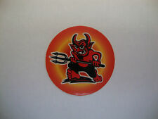 """12 RED DEVILS CROWN GREEN BOWLS STICKERS  1""""  LAWN BOWLS INDOOR BOWLS"""