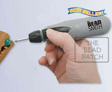 BEADSMITH CORDLESS BEAD REAMER - Battery Operated with 3 Diamond Tips