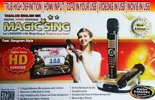 2600 TAGALOG ENGLISH SONGS 2013  Magic Sing ET23K 2Wireless mic
