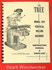 TREE 2UV Vertical Milling Machine Instruction & Parts Manual 0723