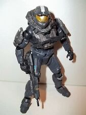 RARE! Halo Reach **STEEL MARK V SPARTAN** Figure 100% Complete w/ Weapon!!!!