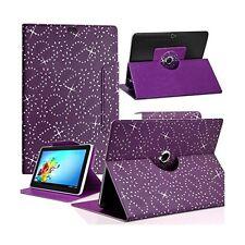 Housse Etui Diamant Universel S couleur Violet pour Tablette Archos 70 Helium 4G