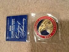 NRA 2014 Challenge Coin in Sleeve
