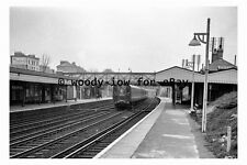 bb0663 - Brockley Railway Station in 1962 , London - photograph