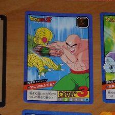 DRAGON BALL Z GT DBZ SUPER BATTLE POWER LEVEL PART 5 CARD CARTE 185 JAPAN **