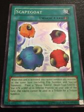 Yu-Gi-Oh! Duel Monsters Trading Card Scapegoat Magic Card SDJ-041