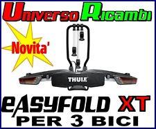 Portabici da  gancio traino Thule EasyFold XT 3 934- 3 Bici ( ELEVATA PORTATA)