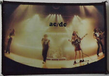 AC/DC On Stage Original Vintage 1980`s Sew On Patch/Photopatch