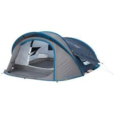 (US Warehouse)Quechua Waterproof Pop Up Camping Tent 2 Seconds XL AIR III, 3 Man