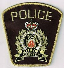 Canadian Pacific Railroad Police, Canada - tinsel thread patch