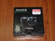 New in Open Box - Fujifilm FinePix T555 16 MP Camera - BLACK - 074101022063