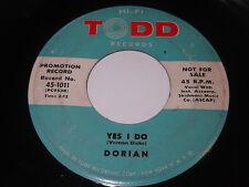 Dorian: Yes I Do / Oh How Well I Feel 45