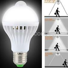 E27 5W PIR Motion Sensor Auto Infrared LED Lamp Light Energy Saving Bulb