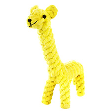 Dog Toys, Cotton Dental Teaser Rope Chew Teeth Cleaning Toys Giraffe Toy