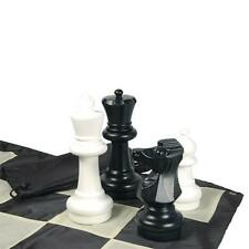 "Giant Chess set 12"" King+board in/outdoor play BIG GIFT LIFETIME SKILL!"