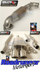 Milltek Exhaust Mini Cooper S R56 Full System Non Res & Sports Cat Twin Oval