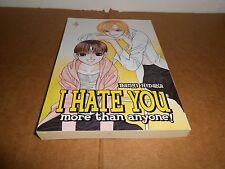 I Hate You More Than Anyone Vol. 4 by Banri Hidaka CMX Manga Book in English
